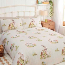 """Country Bumpkins"" animal friends,King,Easy care ""Finest Homeware"" by Rapport"