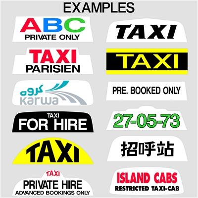 "14"" 16"" and 18"" Taxi Sign Lettering (1)"