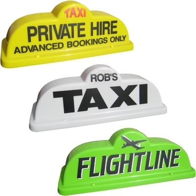 "18"" Bubble Taxi Roof Sign"