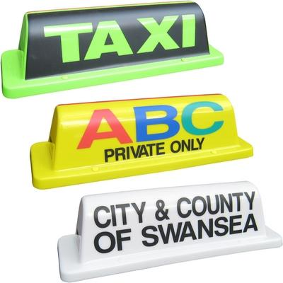 "18"" Roll Taxi Roof Sign"