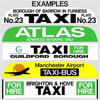 "36"" Taxi Sign Lettering (1)"