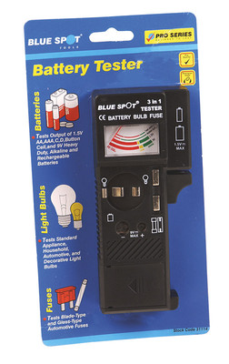Blue Spot Battery Bulb And Fuse Tester   31114